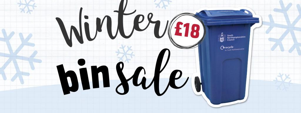 Winter bin sale