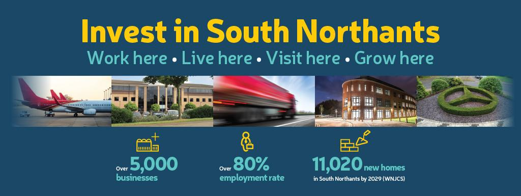 Invest in  South Northamptonshire